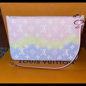 Louis Vuitton Escale pastel pouch/wristlet 2020